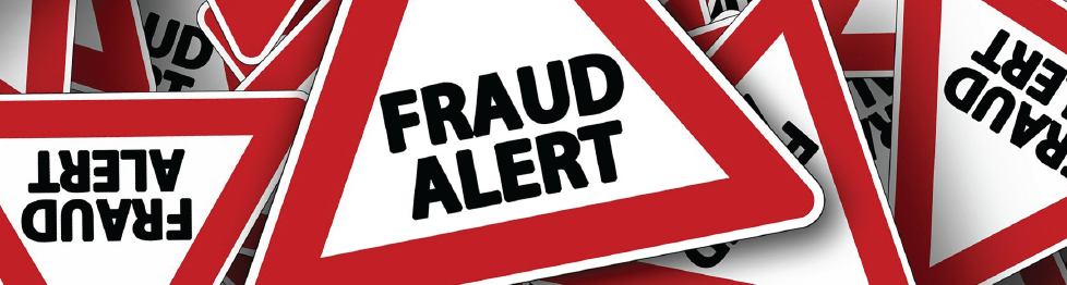 Banner image fraud alert warning
