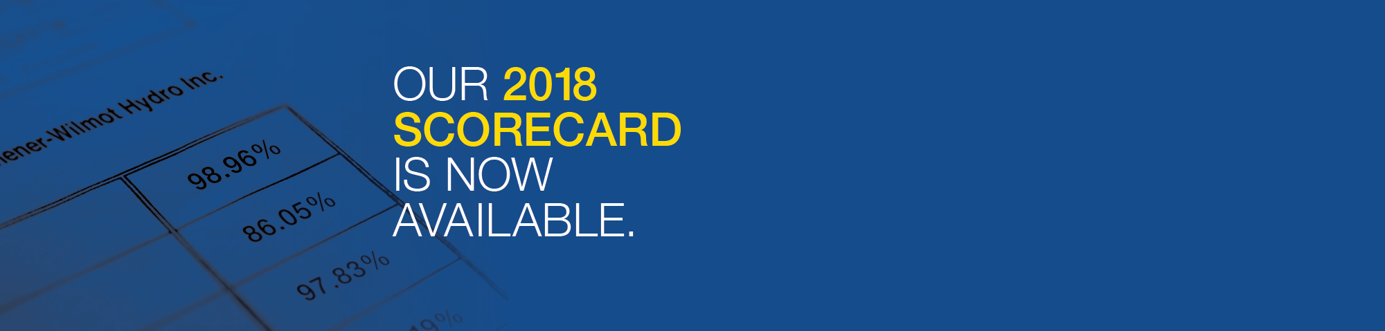 Web banner for KWHI's 2018 Scorecard