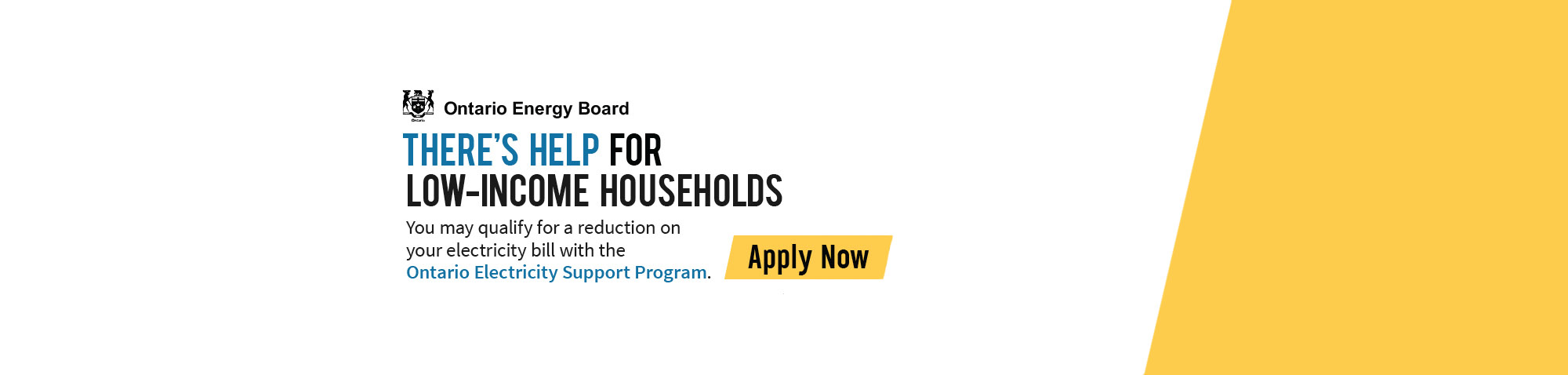Ontario Electricity Support Program Banner
